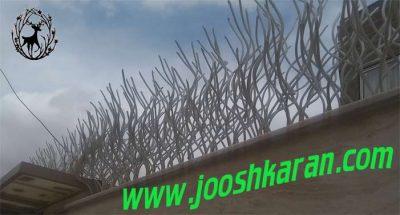 lala 400x215 - حفاظ لاله ای نرده لاله ای (تولید کننده انواع حفاظ روی دیوار)